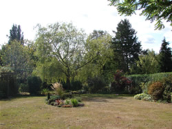 Garden at Wych Elm Bed & Breakfast in Danbury, Chelmsford, Essex